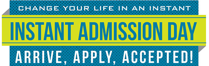 Instant Admission Day