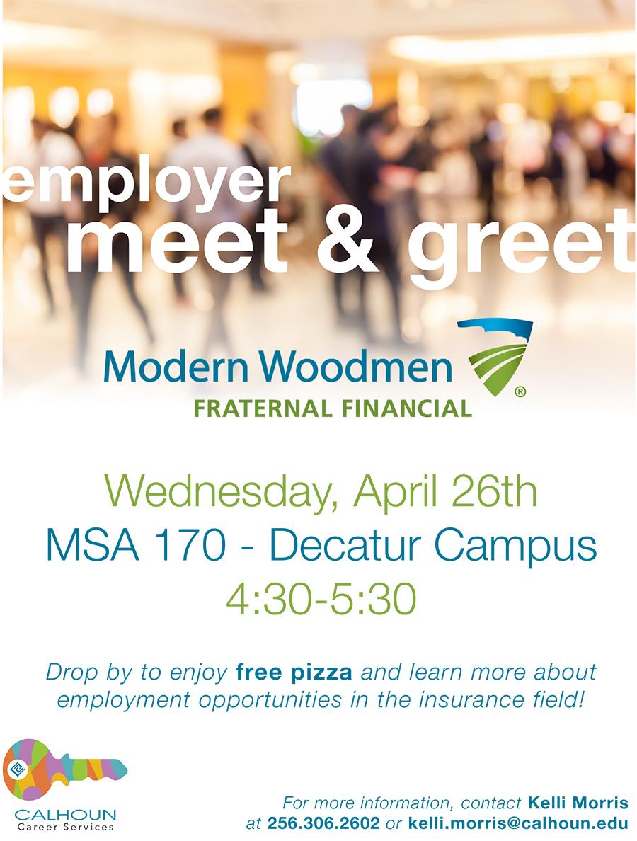 Employer meet & greet