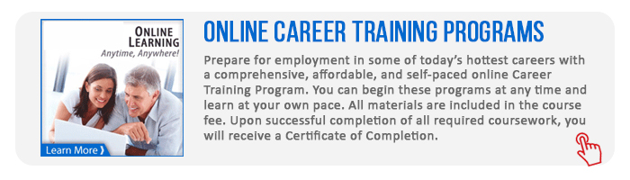 Online Career Training programs