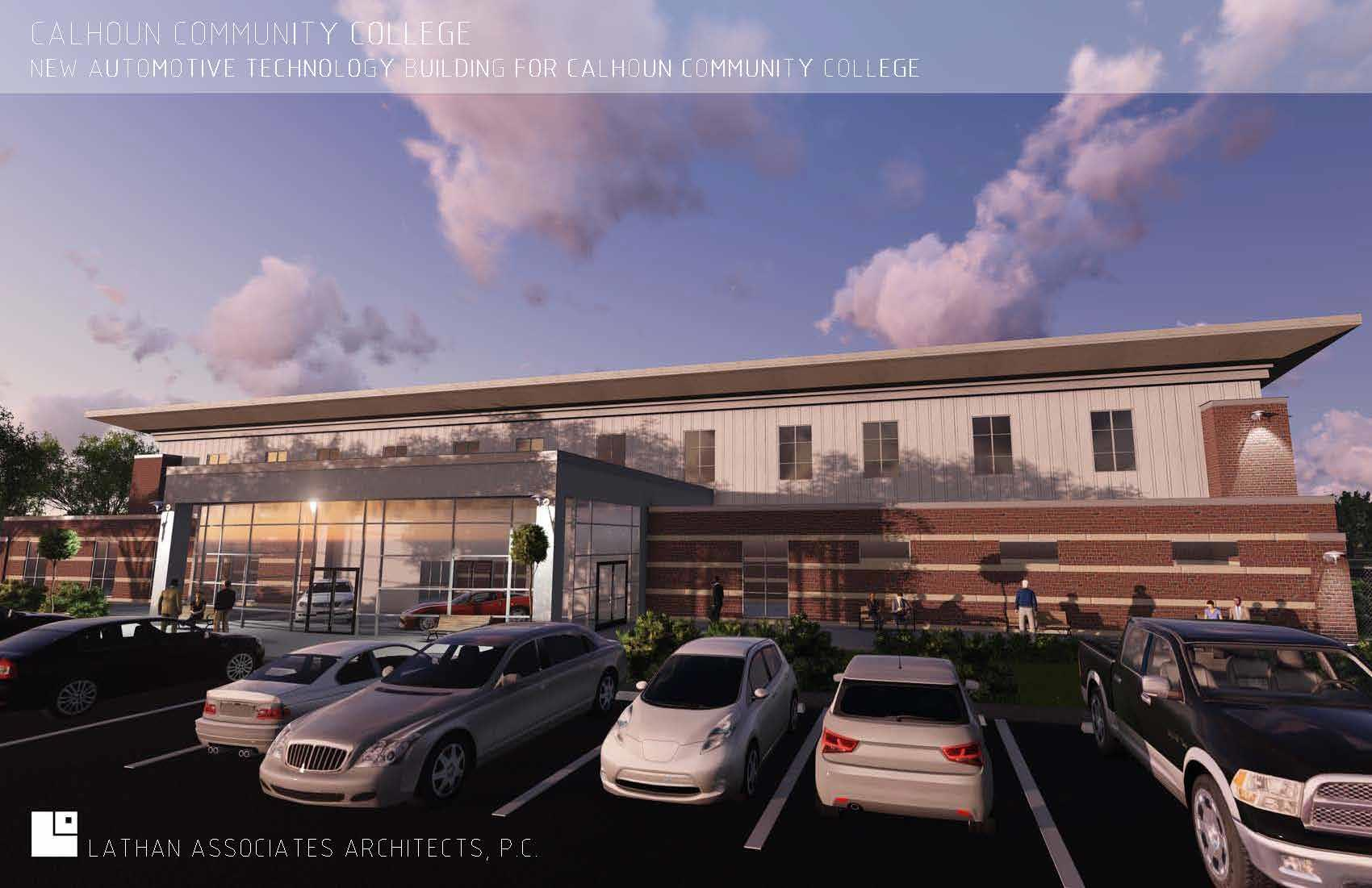 Automotive Tech Center Rendering 1