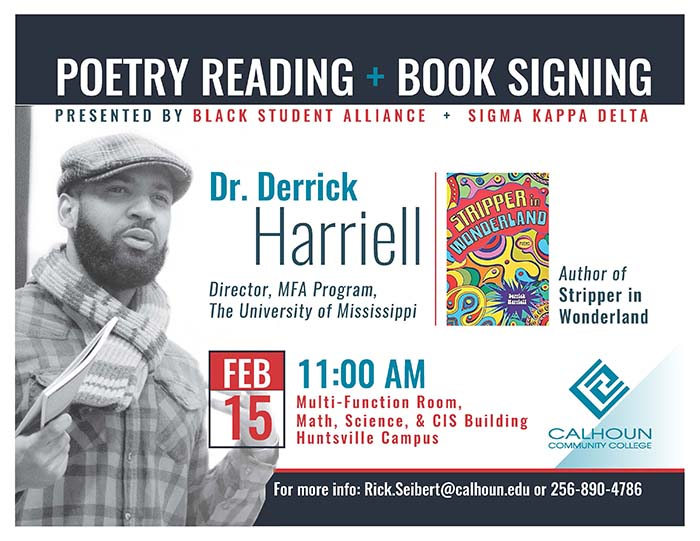 Poetry Reading Flyer